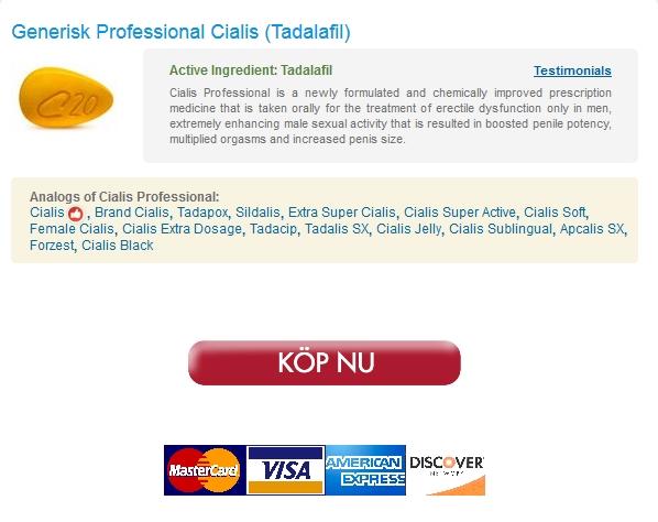 Billigaste priserna någonsin – Online Apotek Professional Cialis