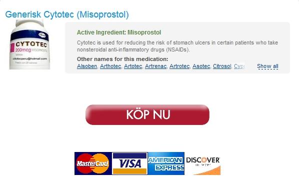 cytotec Billig Apotek Nr Rx * Köp Misoprostol I Sverige * Rabatter och gratis frakt Applied