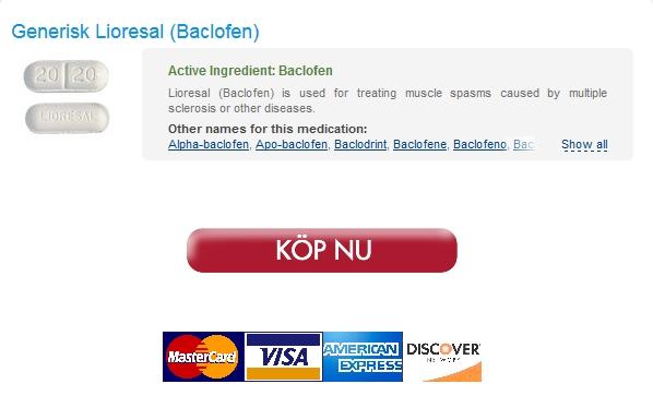 lioresal Alla kreditkort accepteras :: Billigaste Lioresal 25 mg