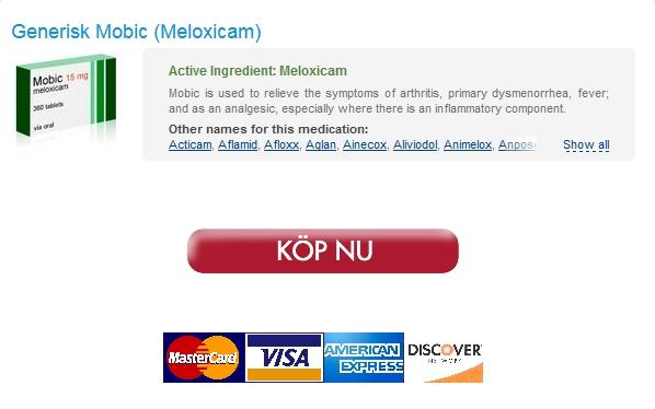Billiga Apotek På Nätet :: Köpa Mobic Läkemedel :: Snabb leverans med bud eller flygpost