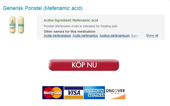 ponstel Köpa Piller Mefenamic acid 250 mg * Hela världen leverans (1 3 dagar) * Bäst Betyg På Nätetapotek
