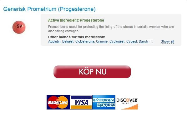 Inget recept Krävs. Köpa Generisk Prometrium 100 mg