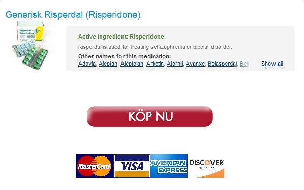 Köpa Risperdal Lagligt På Nätet. Hela världen leverans (1-3 dagar). Flexibla betalningsalternativ
