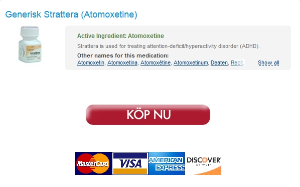 Rabatt På omordnar * Inköp 40 mg Strattera Piller * Gratis frakt