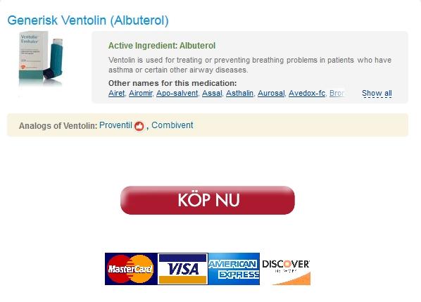 Bästa Apotek För Att Köpa Generiska Läkemedel. Beställa Utan Recept Ventolin 100 mcg. 24/7 kundsupporttjänster