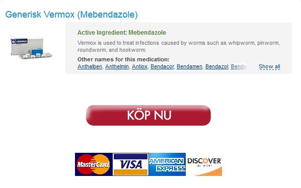 vermox Uppköp Piller Mebendazole / Fri leverans / Billiga Candian Apotek