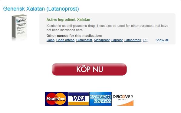 Inköp Lågt Pris Xalatan 2.5 ml / Rabatter och gratis frakt Applied / Bäst Betyg På Nätetapotek