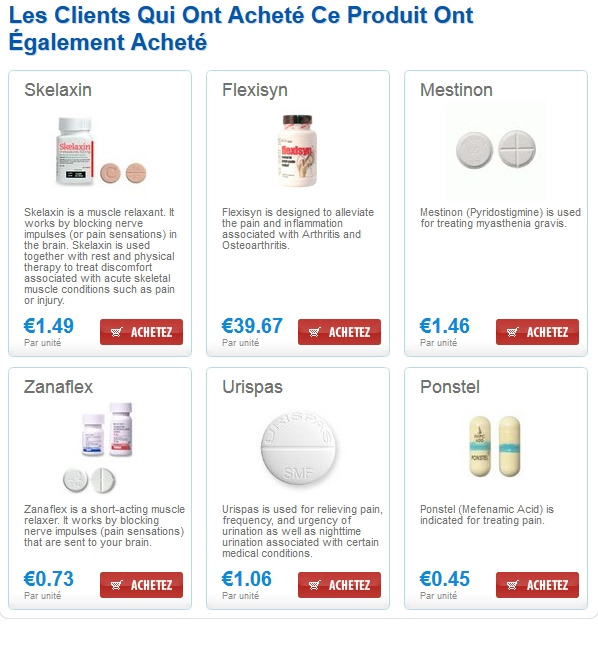 robaxin similar Pharmacie Robaxin / Expédition Immédiate