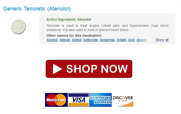 All Credit Cards Accepted * Cheap Generic Tenoretic * Cheap Pharmacy No Rx